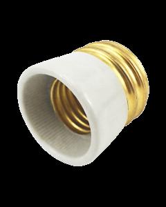 Adaptador para ligar lâmpadas com bucal E27 em refletores com entrada E40