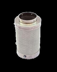 Filtro de Carvão Pequeno Ø100mm