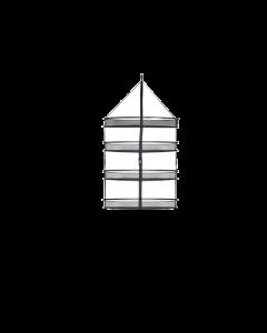 ProDry 55cm de diâmetro com 4 andares - Rede para secar sua colheita